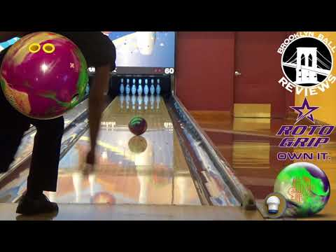 Roto Grip All-Out Show Off Bowling Ball Reaction Video by Jacob Childress Brooklyn Ball Reviews