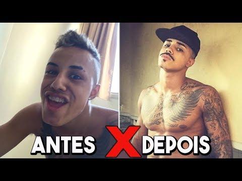 ANTES E DEPOIS DOS FUNKEIROS 0