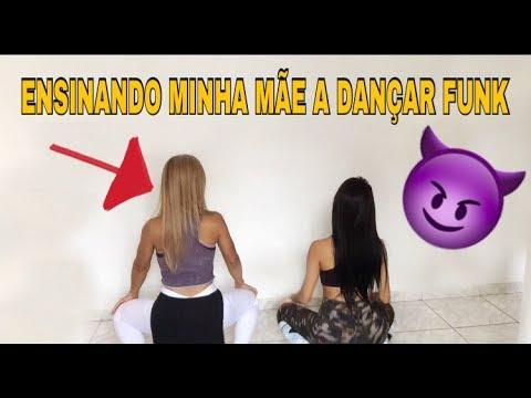 ENSINANDO MINHA MÃE A DANÇAR FUNK
