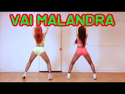 Twerking Anitta Mc Zaac Maejor - Vai Malandra cover dance WAVEYA