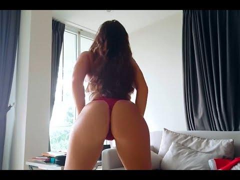 MORENA DE BUNDA GOSTOSA DANÇANDO DE FIO DENTAL 2 ª parte Big booty Nastya