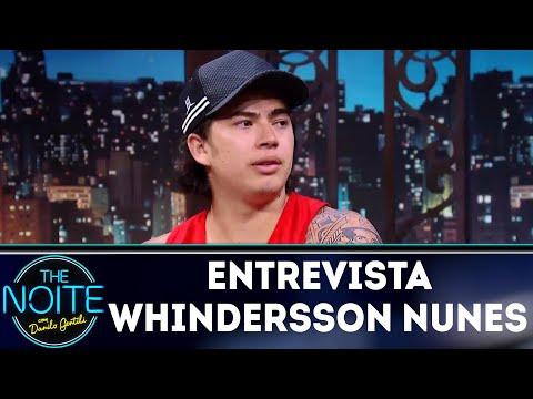 Entrevista com Whindersson Nunes The Noite 19 03 18