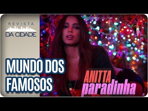 Anitta lança Paradinha Maju no Jornal Hoje e B Marquezine - Revista da Cidade 01 06 17