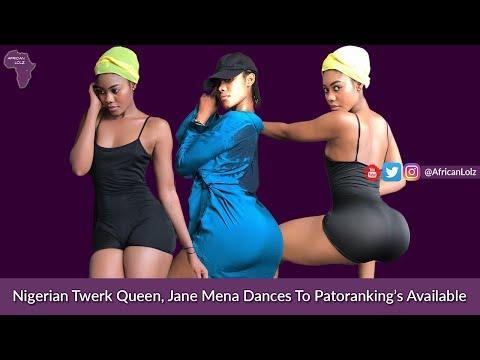 Patoranking - Available Nigerian Twerk Queen Jane Mena Naija Music & Twerking Booty Dance