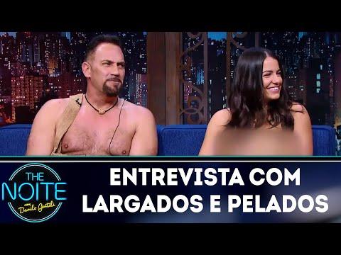 Entrevista com Largados e Pelados The Noite 20 03 18