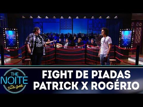 Fight de piadas Patrick Maia x Rogério Morgado The Noite 21 03 18