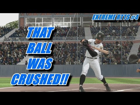 GET CRUSHED BALL - Extreme RTTS 4 - MLB The Show 18