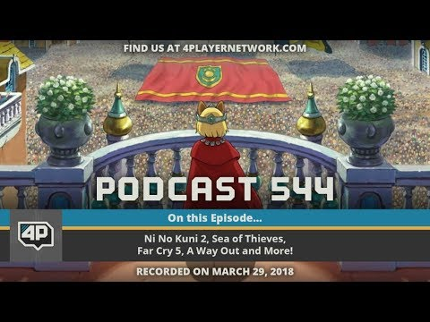 4Player Podcast 544 The Ball Dropping Show