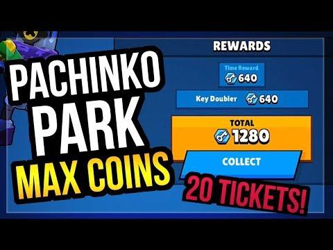 Pachinko Park Max Keys Strategy & Betting 20 Tickets Robo Rumble Brawl Stars