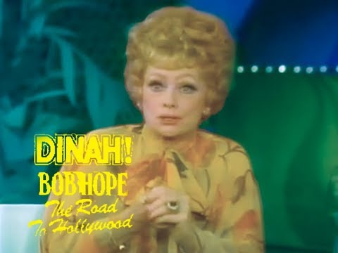 Dinah Shore Show w Bob Hope & Lucille Ball - 1977