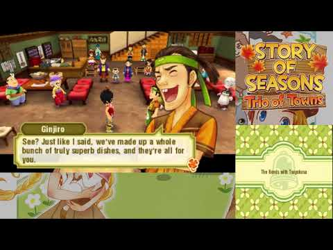 Let's Play Story of Seasons Trio of Towns 116 Bonds