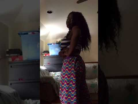 Best twerk ever Black youngsta booty twerk