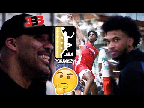 Lavar Ball RECRUITS FOR JBA With Marvin Bagley Shows up to Josh Christopher AAU Game The Truth