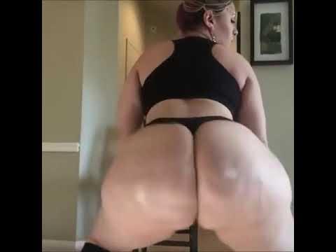 Blonde White Girl Booty Twerk