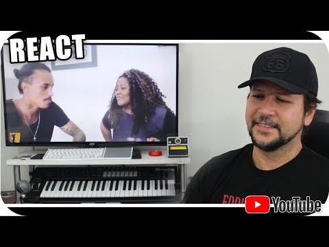 MC LIVINHO & VANESSA JACKSON cantando ALICIA KEYS - Reagindo React Reação