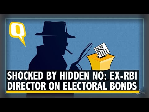 Hidden Number on Electoral Bond to Track Donors Ex-RBI Director