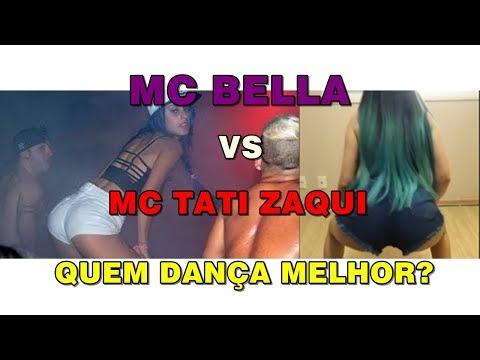 MC TATI ZAQUI VS MC BELLA Quem dança melhor