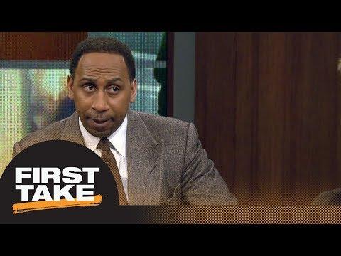 Stephen A Smith would trade Lonzo Ball for Kawhi Leonard First Take ESPN