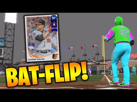 87 Chris Davis CRUSHES The Ball MLB The Show 18 Battle Royale Gameplay