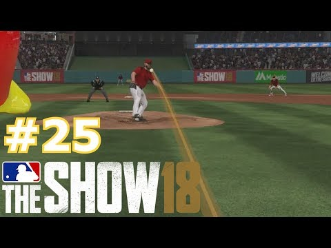 BALL GOES RIGHT THROUGH THE PITCHER MLB The Show 18 Diamond Dynasty 25