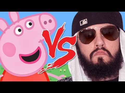 Peppa Pig vs Mussoumano Batalha Cartoon