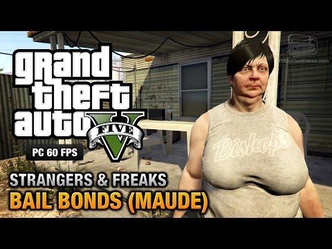 GTA 5 PC - Maude Bail Bonds 100 Gold Medal Walkthrough