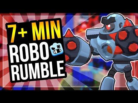 Going For Robo Rumble Record 7 Minutes Pachinko Park Brawl Stars