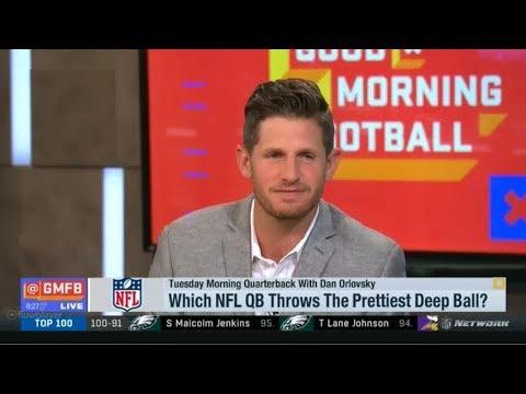 Which NFL QB Throws The Prettiest Deep Ball GMFB
