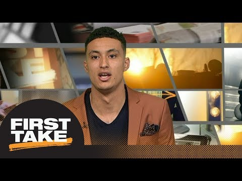 Kyle Kuzma on his rookie season with Lakers playing with Lonzo Ball and more First Take ESPN