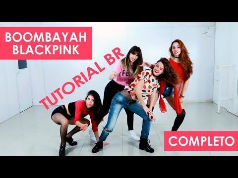 BLACKPINK BOOMBAYAH Tutorial BR Full Mirror by BLACK SHINE