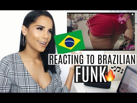 REACTION TO BRAZILIAN MUSIC FUNK 0