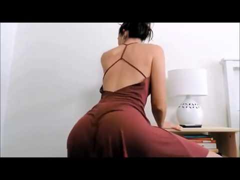 Hot Slow Motion Latina Red Dress Twerk Booty Clap Despacito Rap Remix Justin Bieber Luis Fonsi