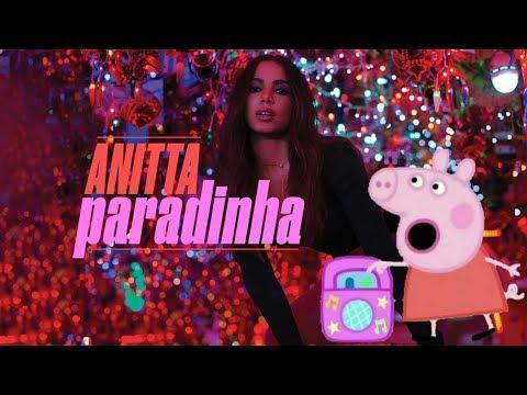 Peppa Pig -Dançando- Anitta Paradinha