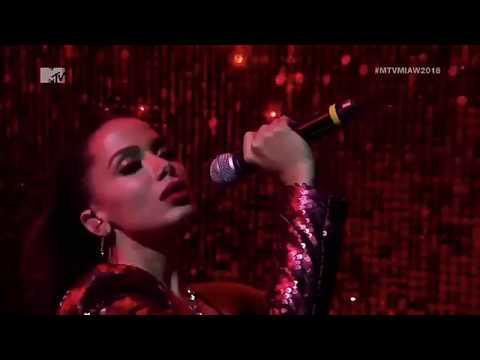 Anitta - Indecente Vai Malandra Mtv Miaw COMPLETO live 2018
