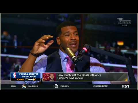 Jim Jackson-Has LaVar Ball ruined his sons' basketball futures THE HERD 5 31 2018