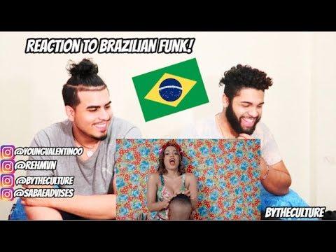 REACTING TO BRAZILIAN FUNK Nego do Borel - Você Partiu Meu Coração ft Anitta Wesley Safadão