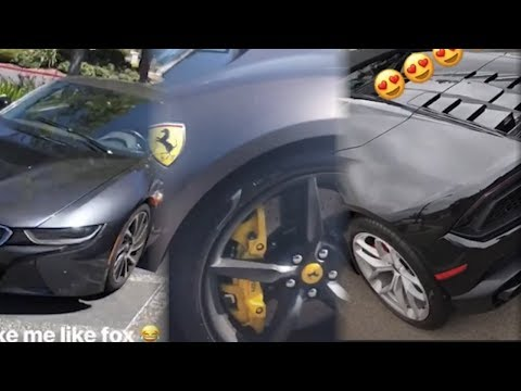 DeAaron Fox Ben Simmons Donovan Mitchell Lonzo Ball & More Show Off Expensive Cars