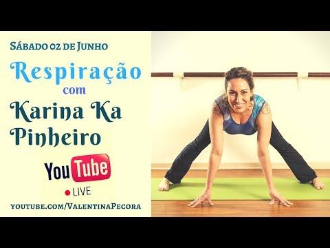 LIVE 05 Respiração Entrevista AO VIVO com Karina Ka Pinheiro
