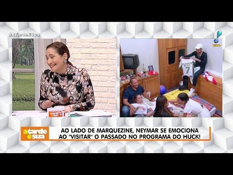Irmã de Neymar fez careta ao ver Bruna Marquezine em programa Veja flagra