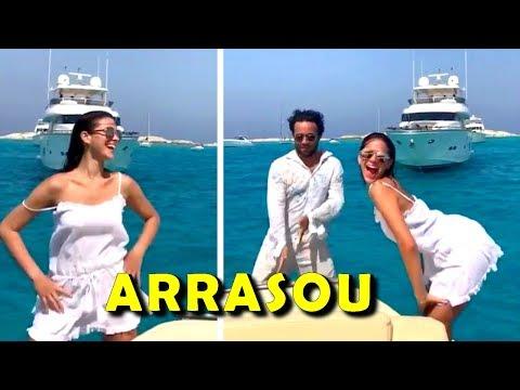 Bruna Marquezine arrasa dançando 'Paradinha' da Anitta