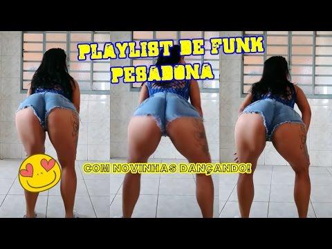 PLAYLIST DE FUNK PESADONA COM DANÇA ft Tamara Dias