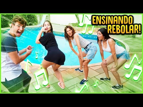 ENSINANDO AS GRINGAS A REBOLAREM COM FUNK REZENDE EVIL