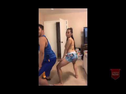 Twerk Dance Booty Dance in Room