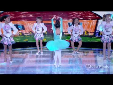 Alice Leite Canta e Dança a musica A Bailarina - 06 08 2016 - Eu e as Crianças - Programa Raul Gil