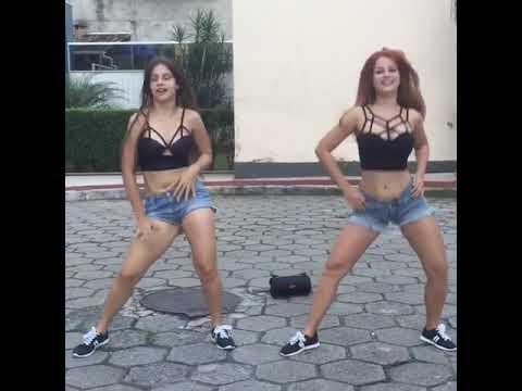 Amigas resolvem dançar olha no que deu