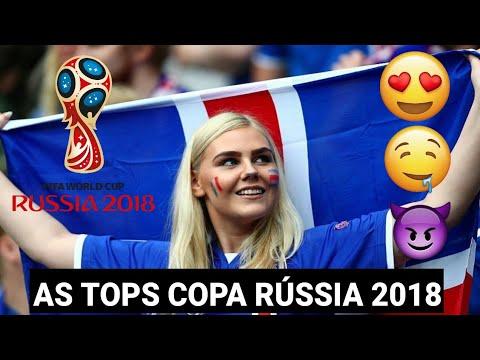Gatas da Copa 2018 Rússia