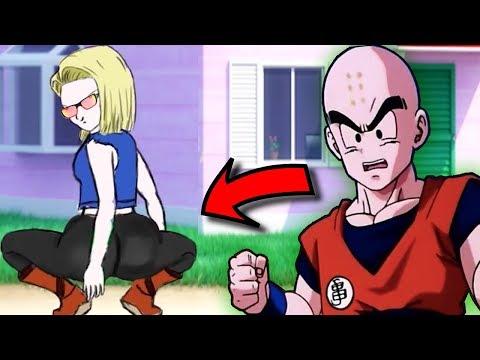 A Androide 18 Virou Funkeira Animação de Dragon Ball