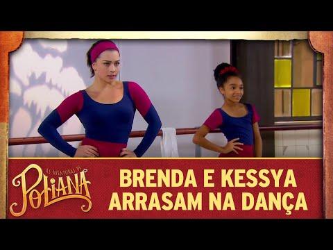 Brenda e Kessya arrasam na dança As Aventuras de Poliana