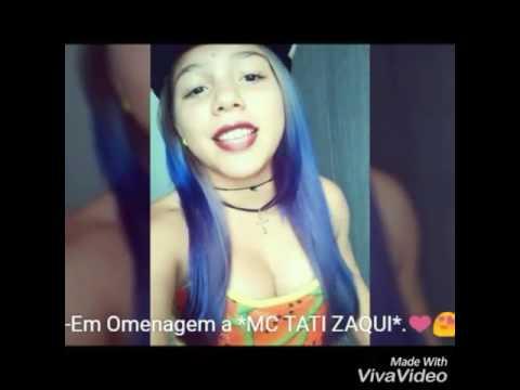Menina De 14 Anos Faz Omenagem a MC TATI ZAQUi