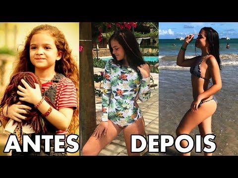 Mirins Famosos Brasileiros Antes e Depois 2018